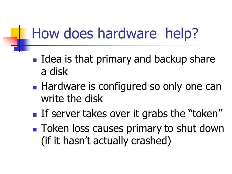 How does hardware help.