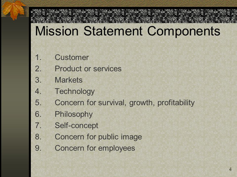 3 Mission Statement ( expanded ) We are committed to quality service for the everyday person (1).