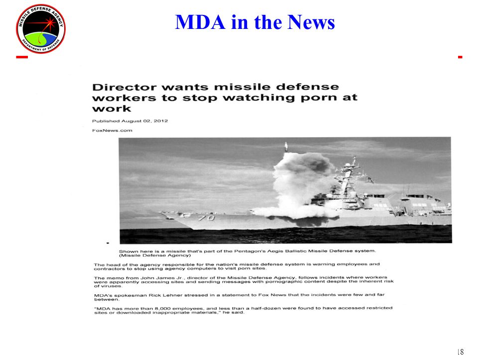 18 ms- MDA in the News