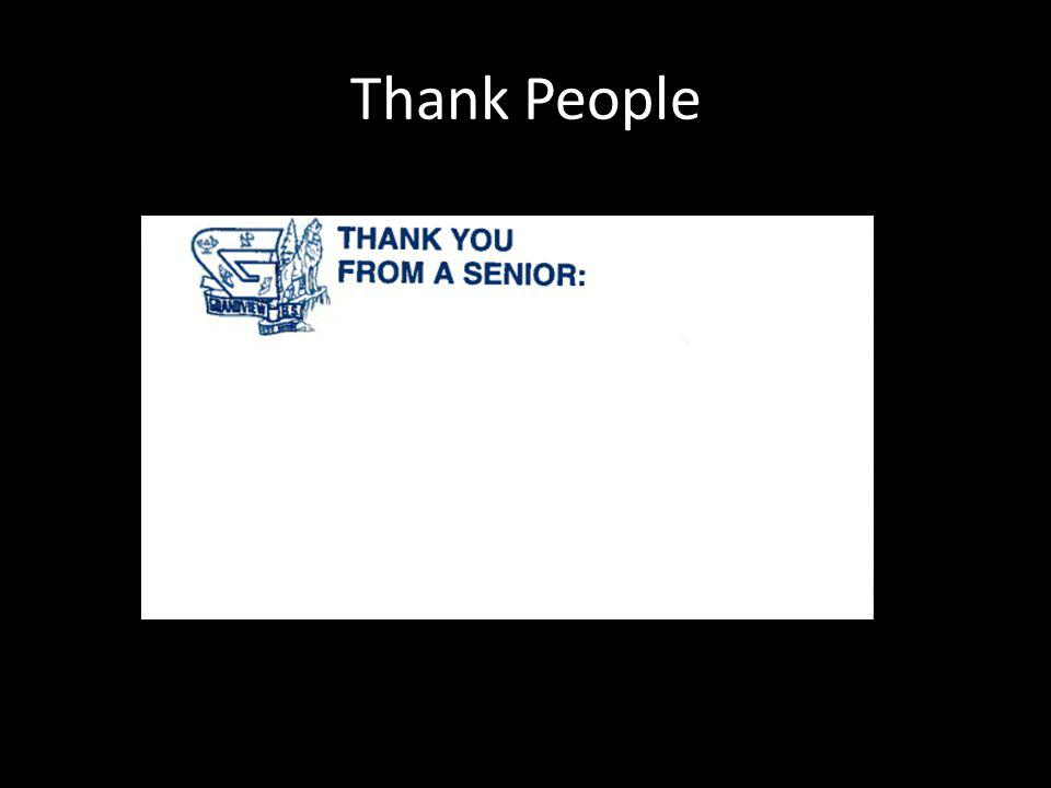 Thank People