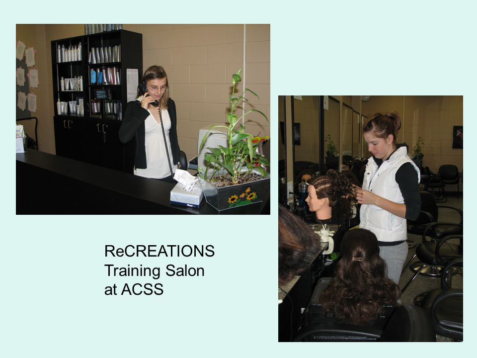 ReCREATIONS Training Salon at ACSS