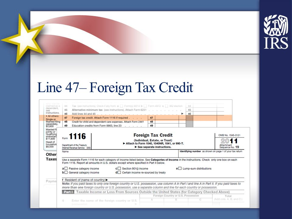 Standard Deduction And Tax Computation Line 40 Standard Deduction