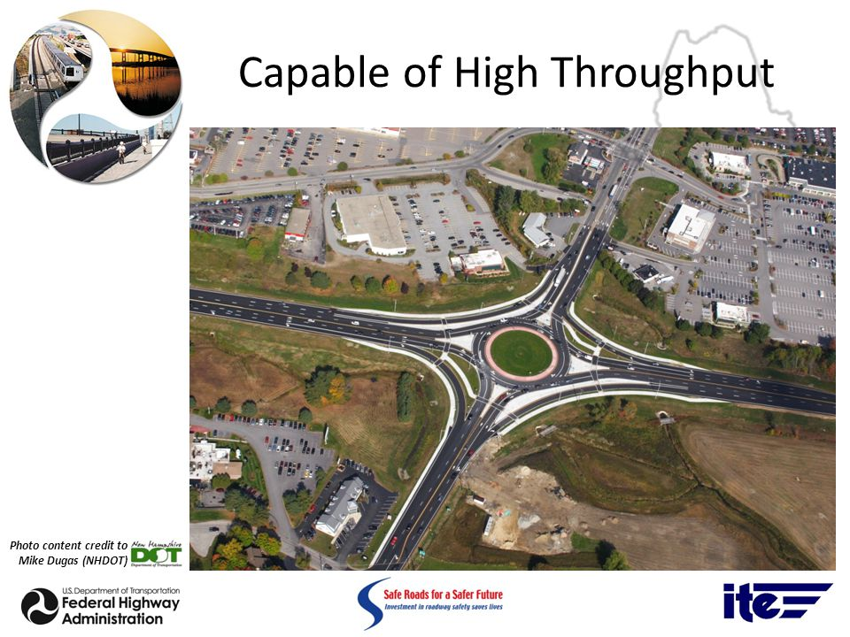 Capable of High Throughput Photo content credit to Mike Dugas (NHDOT)