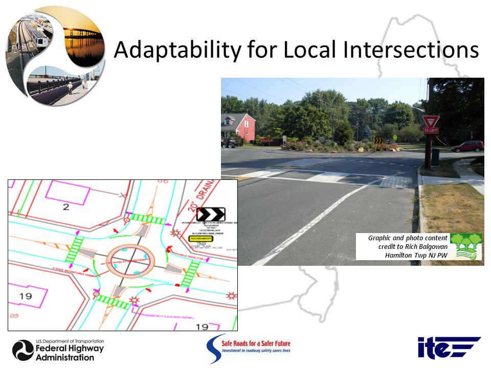 Adaptability for Local Intersections Graphic and photo content credit to Rich Balgowan Hamilton Twp NJ PW