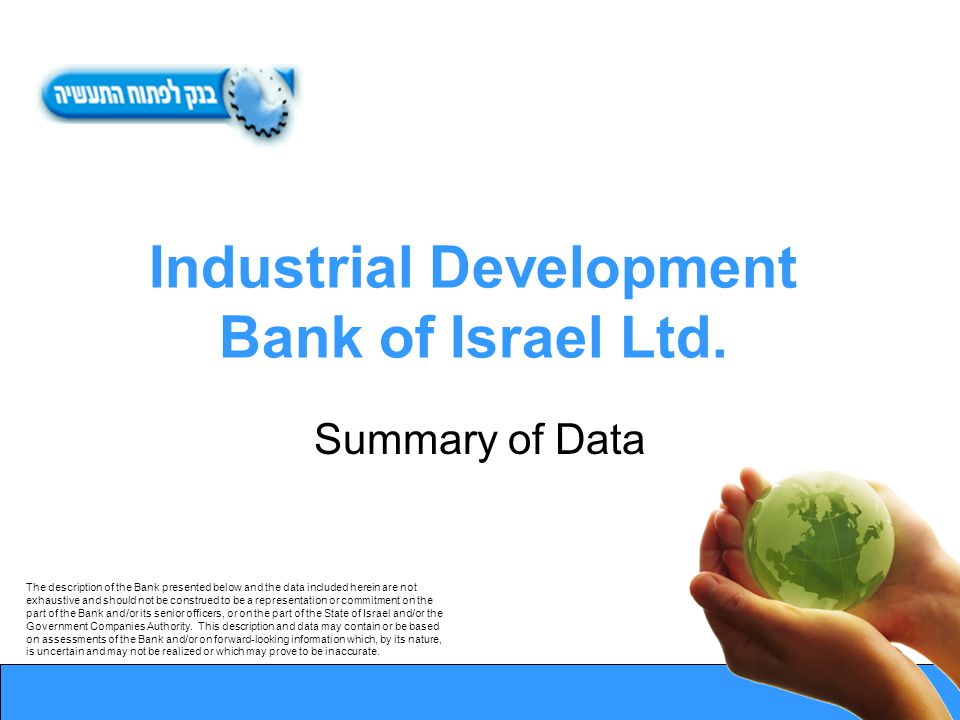 Industrial Development Bank of Israel Ltd.