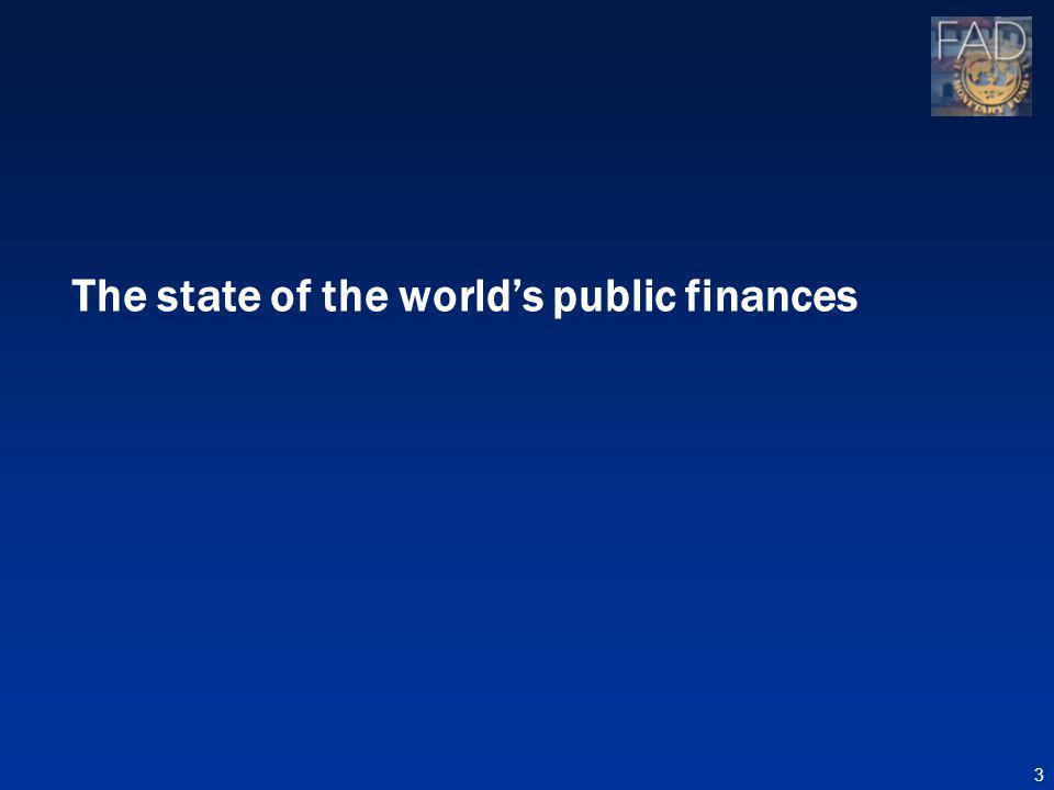 The state of the worlds public finances 3
