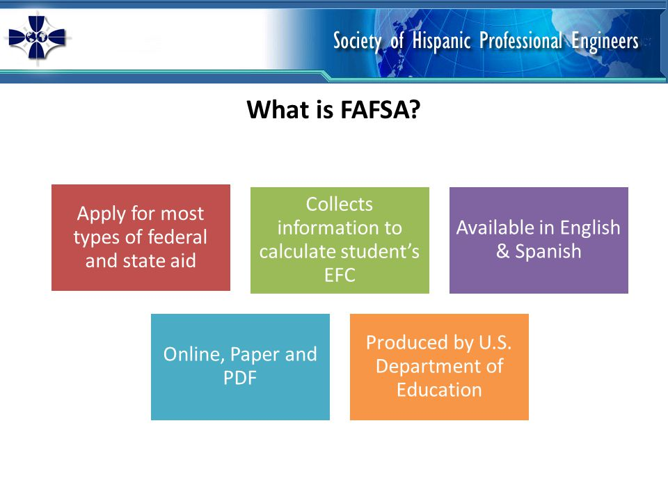 What is FAFSA.