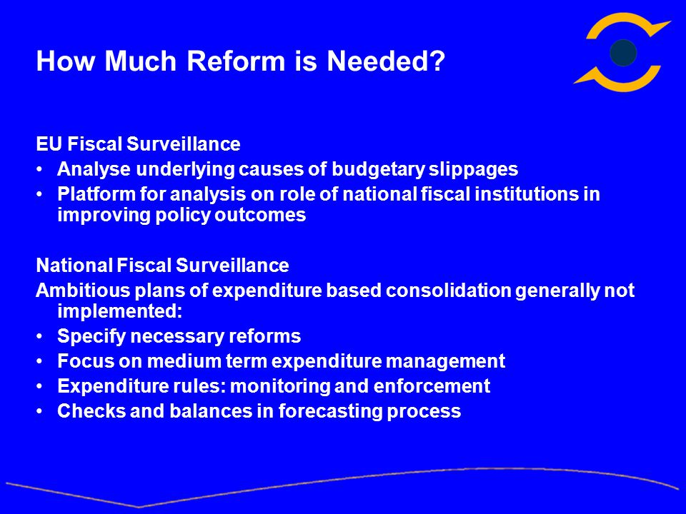 How Much Reform is Needed.