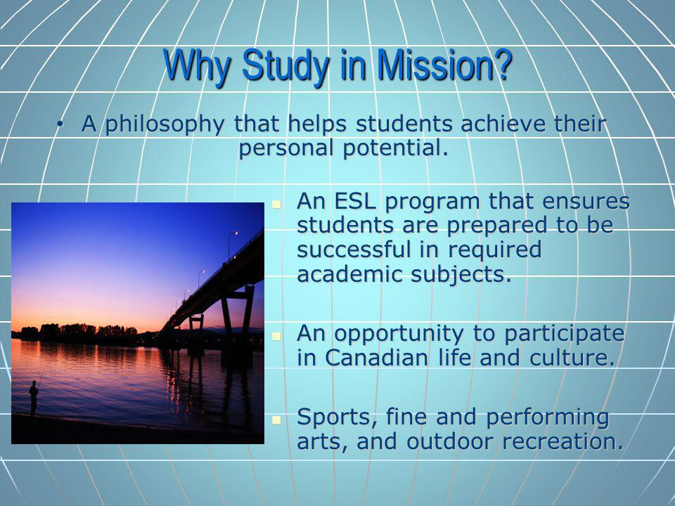 An ESL program that ensures students are prepared to be successful in required academic subjects.