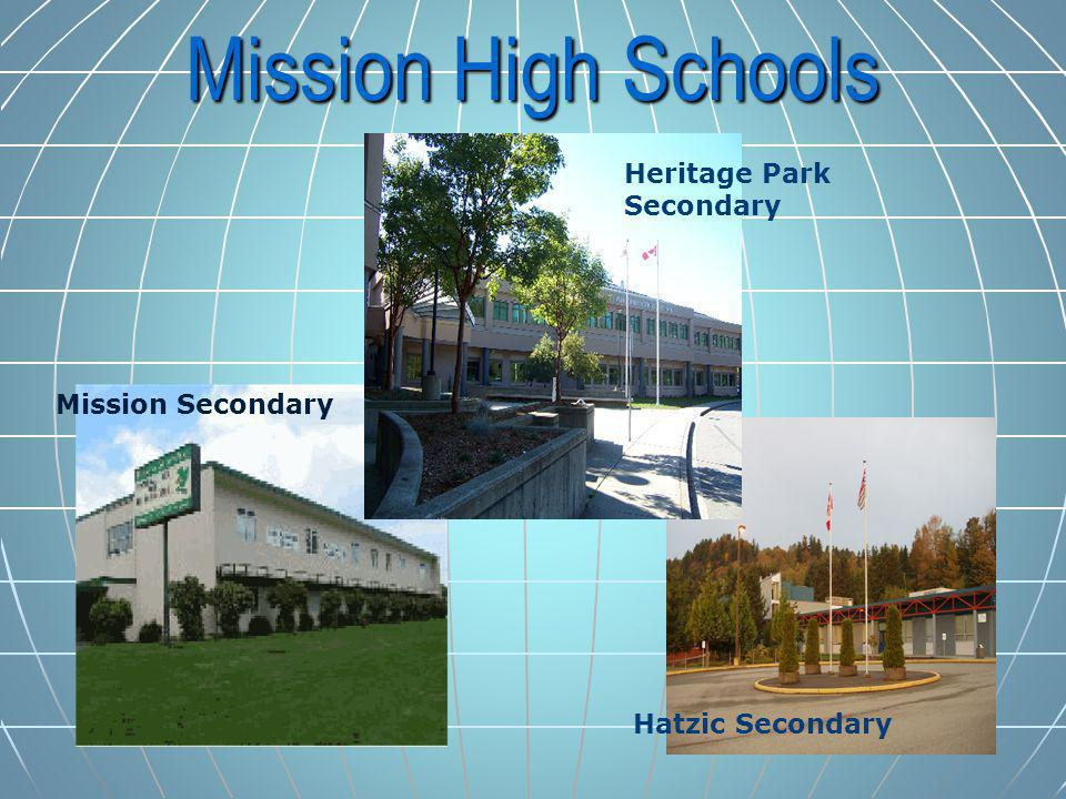 Mission High Schools Heritage Park Secondary Mission Secondary Hatzic Secondary