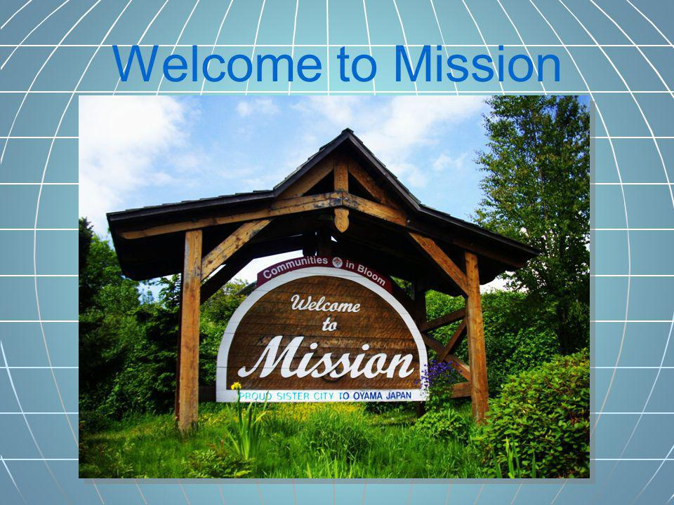 Welcome to Mission