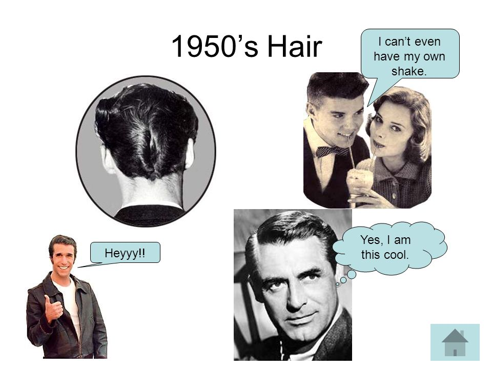 1950s Hair Heyyy!! Yes, I am this cool. I cant even have my own shake.