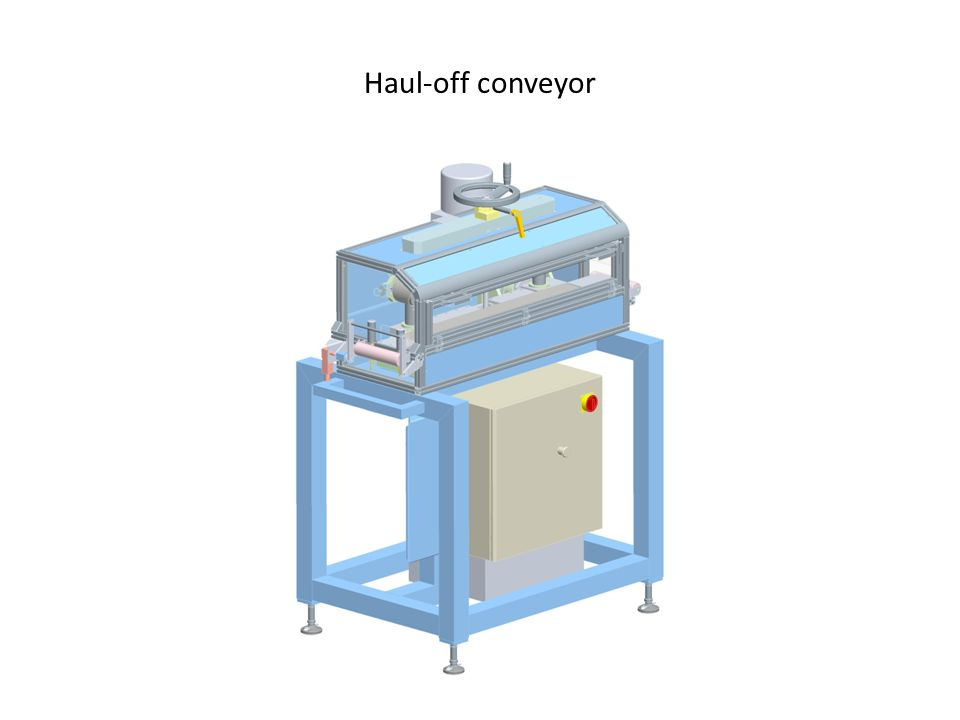 Haul-off conveyor