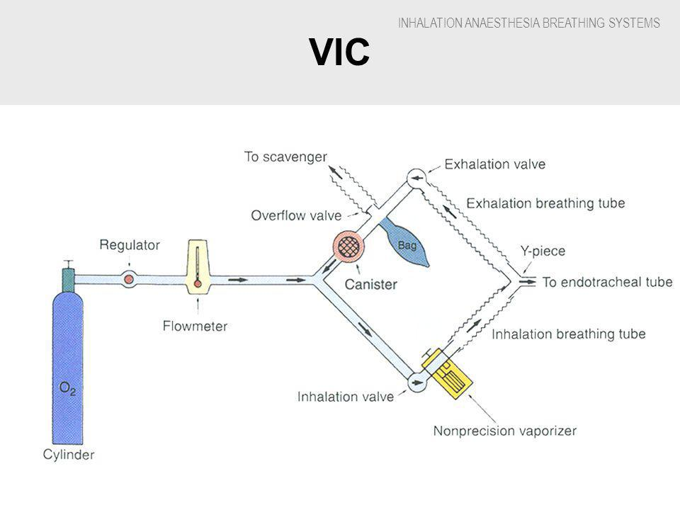 INHALATION ANAESTHESIA BREATHING SYSTEMS VIC