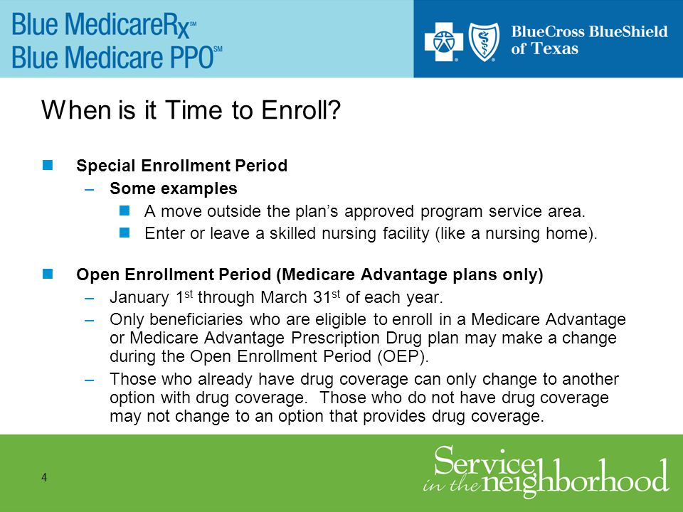 4 When is it Time to Enroll.