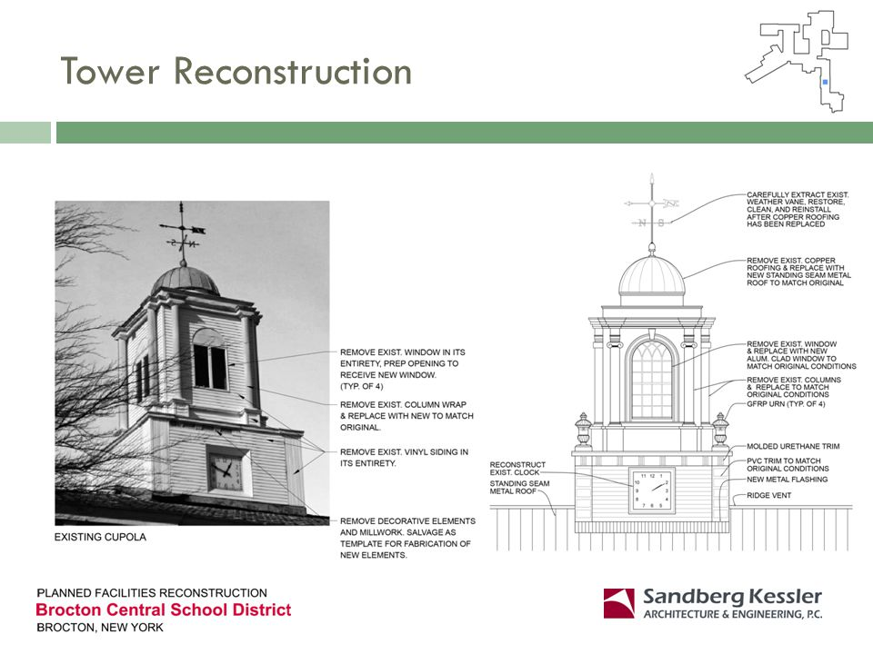 Tower Reconstruction