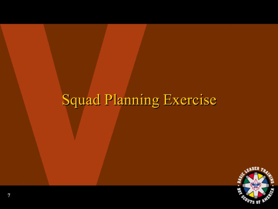6 Planning Items to Consider Boards of review Courts of honor Year-round recruiting plan Boards of review Courts of honor Year-round recruiting plan Monthly activities Service/conservation project Team youth leader training