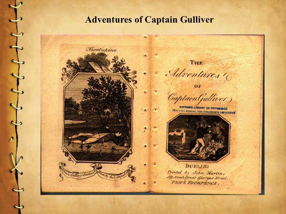 Adventures of Captain Gulliver