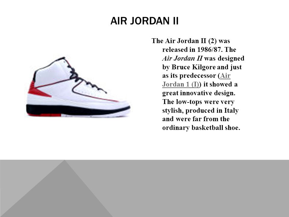 cd7c6f88aa0f TIME LINE OF AIR JORDANS. In the 1984 NBA Draft