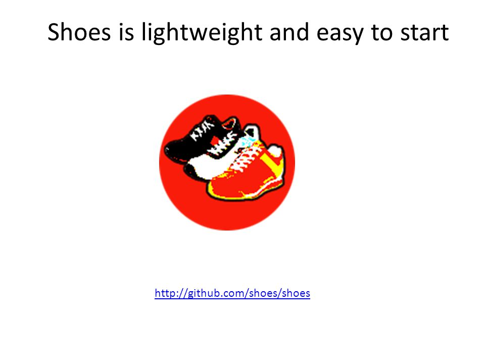 Shoes is lightweight and easy to start http://github.com/shoes/shoes