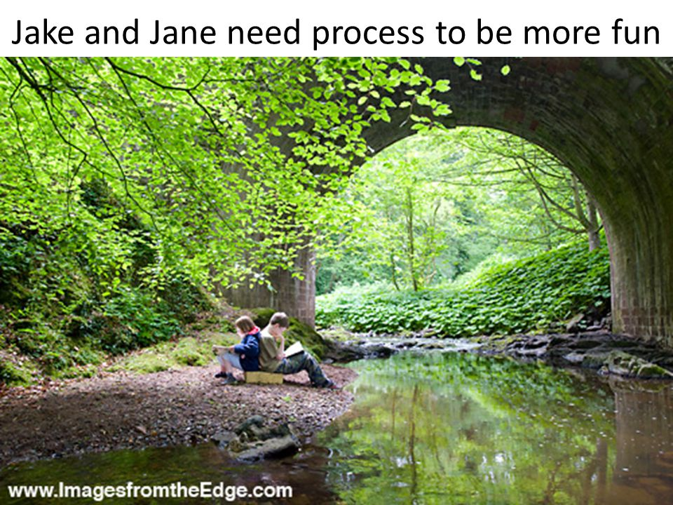 Jake and Jane need process to be more fun