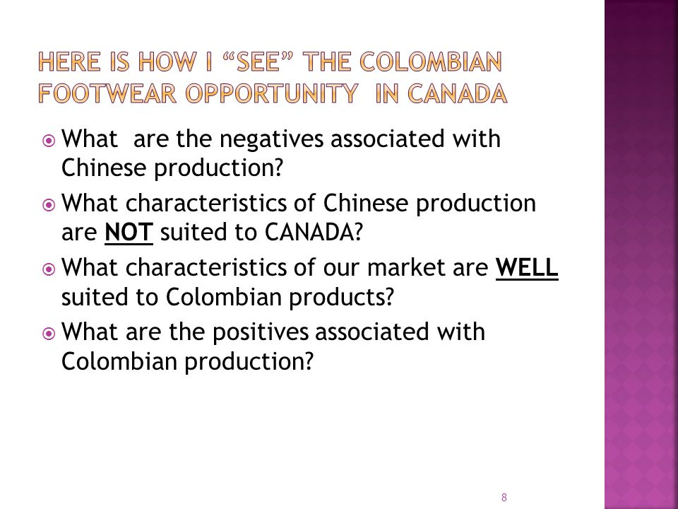 What are the negatives associated with Chinese production.