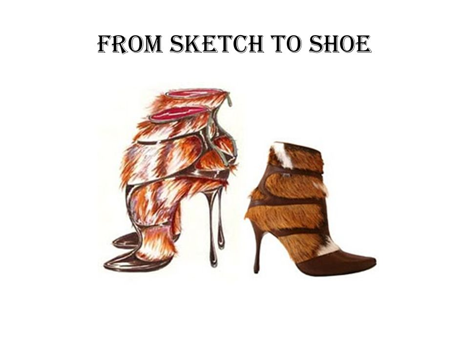 From Sketch to Shoe