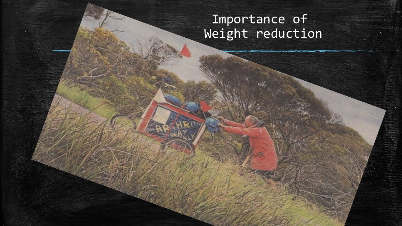 Importance of Weight reduction