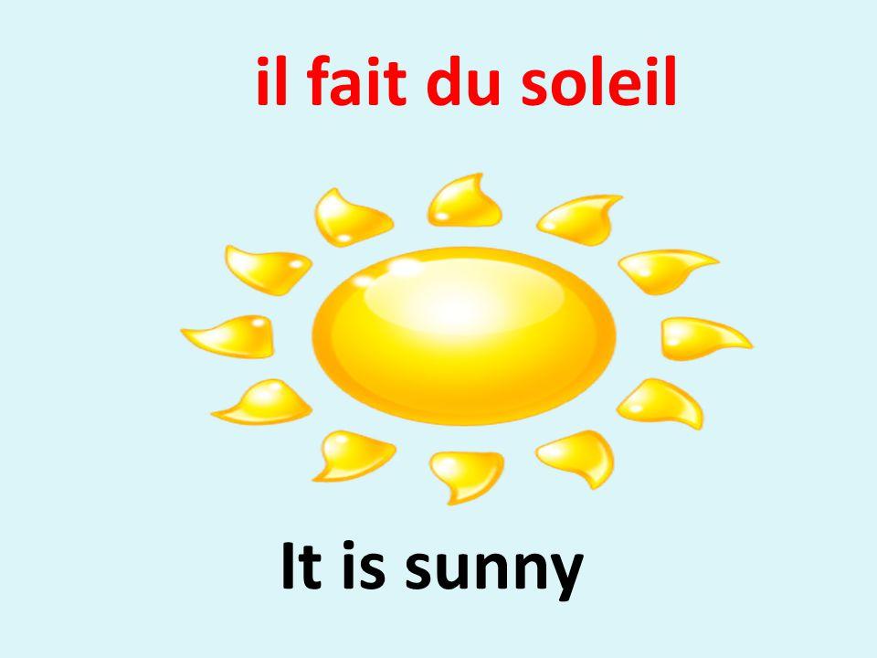 Il Fait Du Soleil Translation
