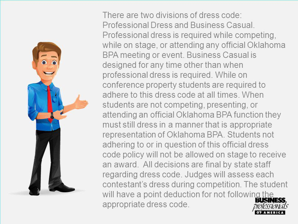 Men Professional Dress Guidelines  Professional appearance