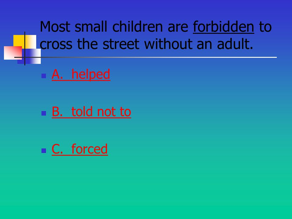 Directions Use the context clues to make the best choice for each words meaning.
