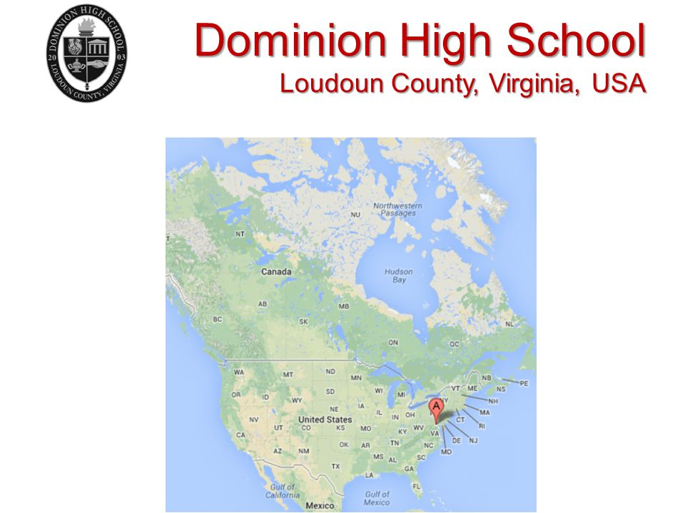 Dominion High School Loudoun County, Virginia, USA