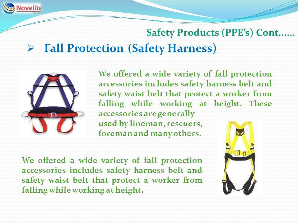 Safety Products (PPEs) Cont......