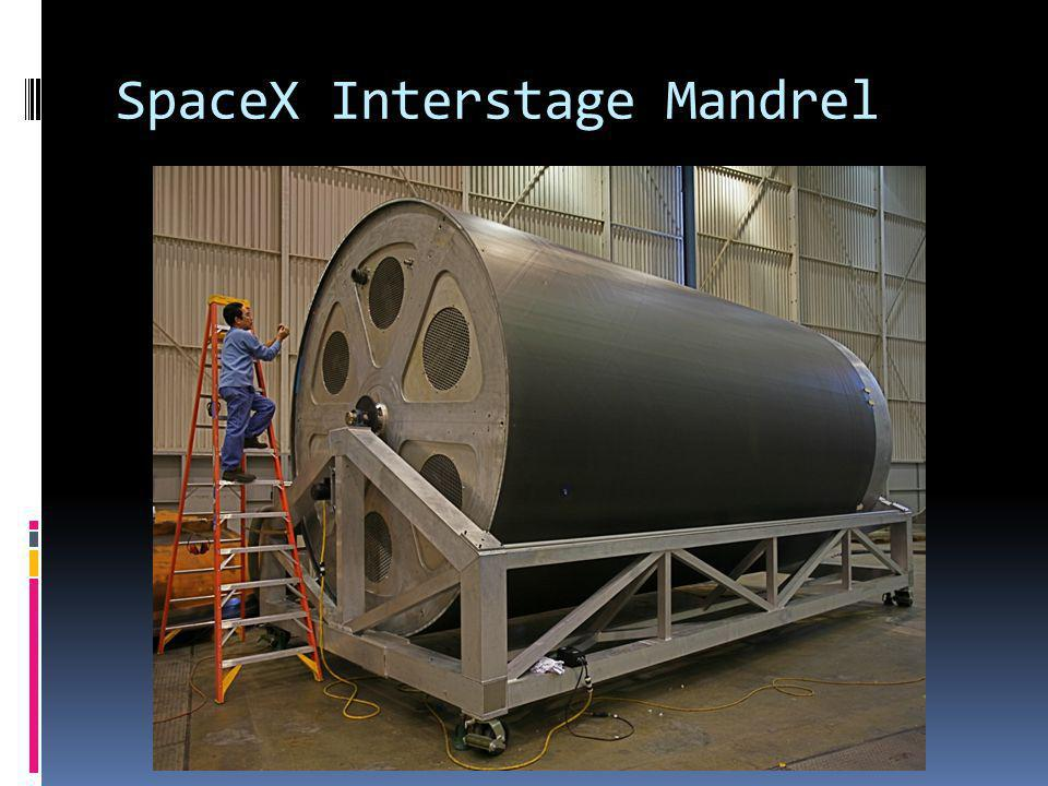 SpaceX Interstage Mandrel