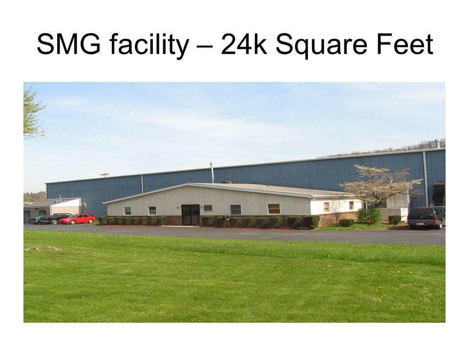 SMG facility – 24k Square Feet