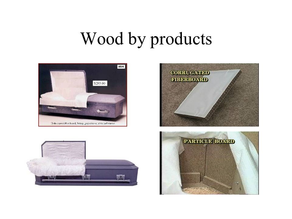 Wood by products