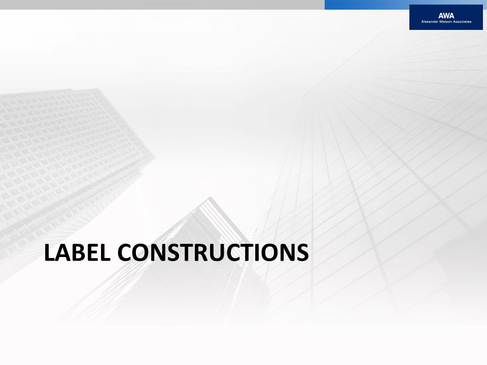 LABEL CONSTRUCTIONS