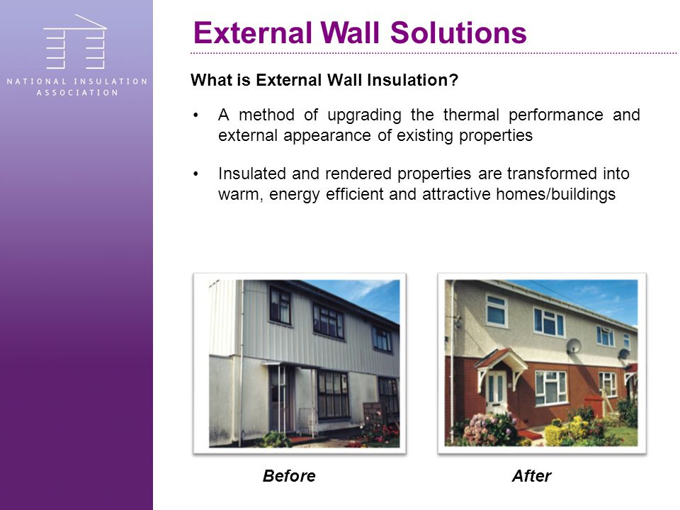 What is External Wall Insulation.