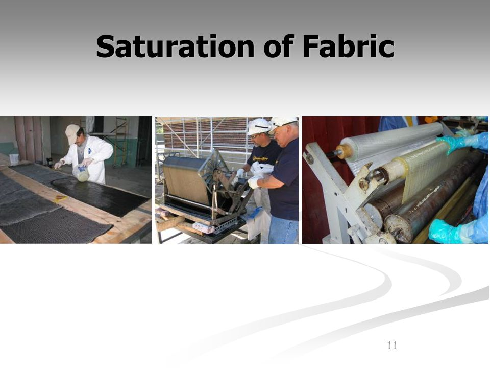 Saturation of Fabric 11