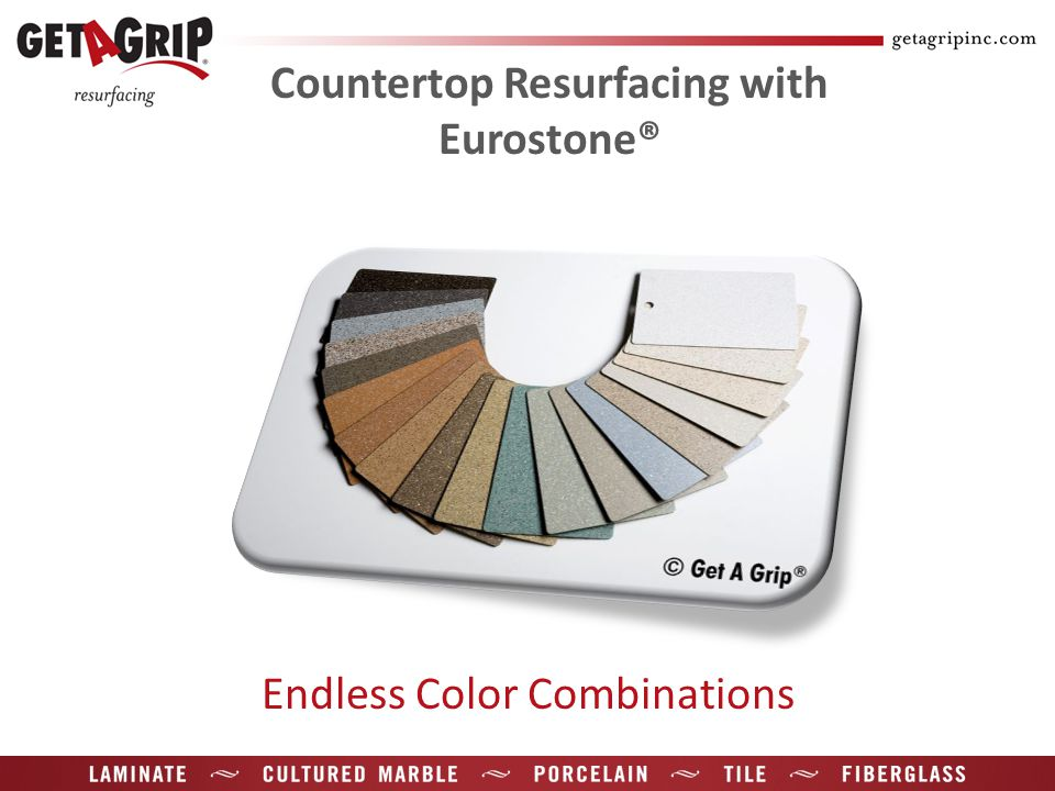 Countertop Resurfacing with Eurostone® Endless Color Combinations