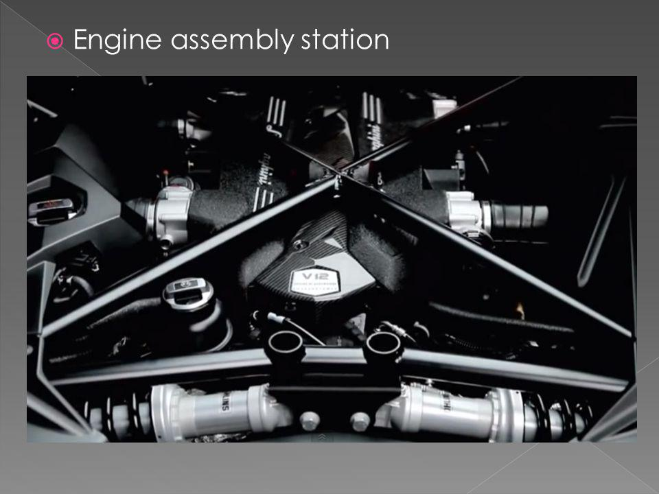 Engine assembly station
