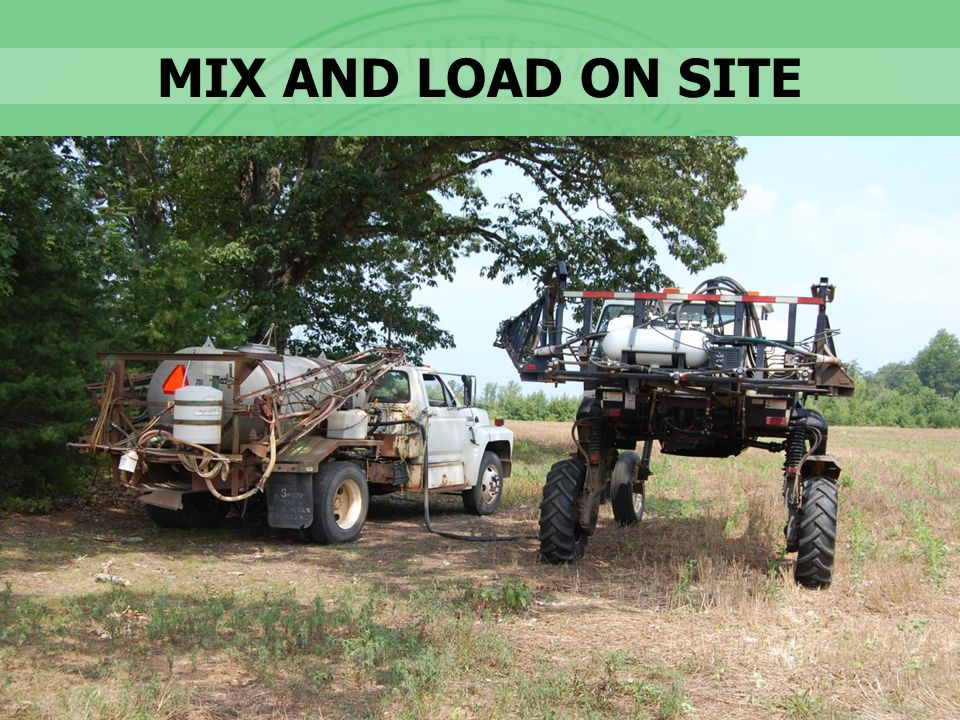 MIX AND LOAD ON SITE