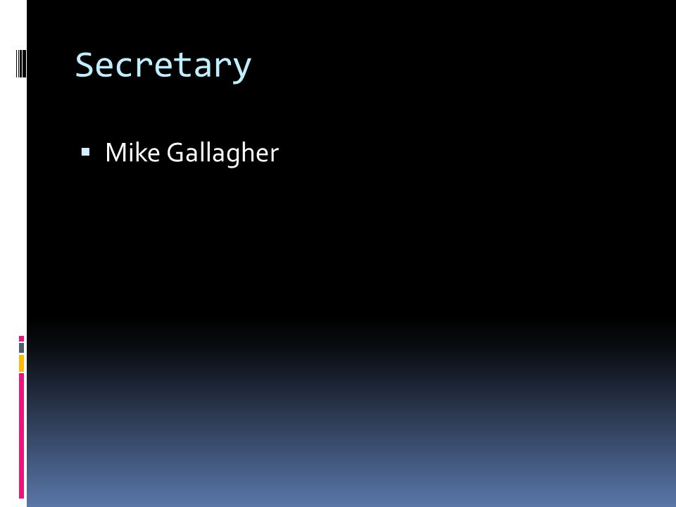 Secretary Mike Gallagher