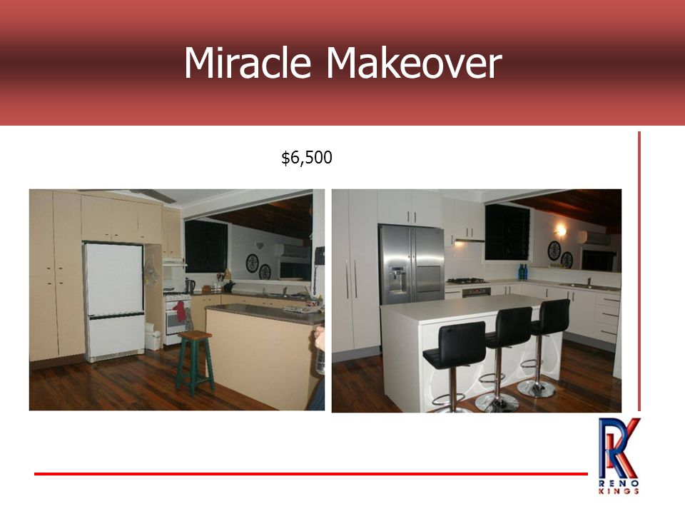 Miracle Makeover $6,500