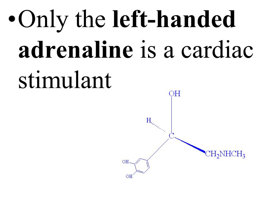Only the right-handed lactic acid is oxidized to pyruvic acid