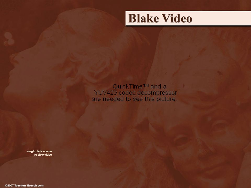 Blake Video single click screen to view video