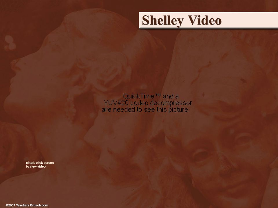 Shelley Video single click screen to view video