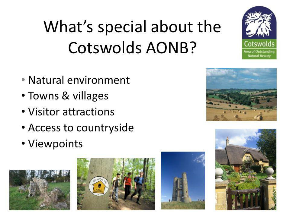 Whats special about the Cotswolds AONB.