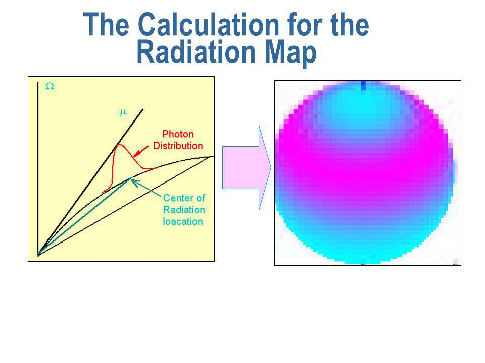 The Calculation for the Radiation Map