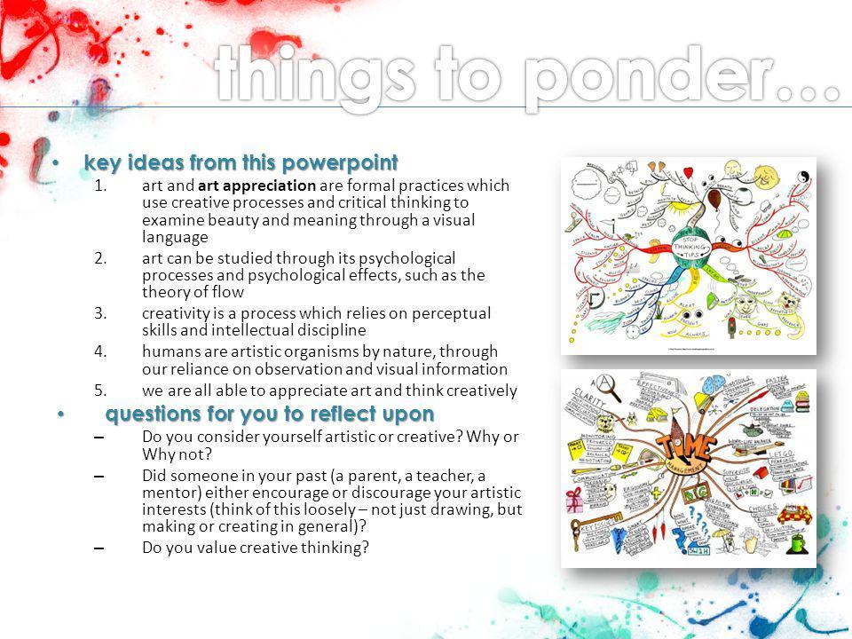 Art Appreciation Creativity The Psychology And Analysis Of Art